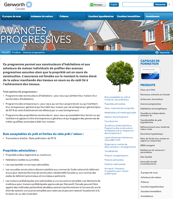 Genworth Avances Progressives