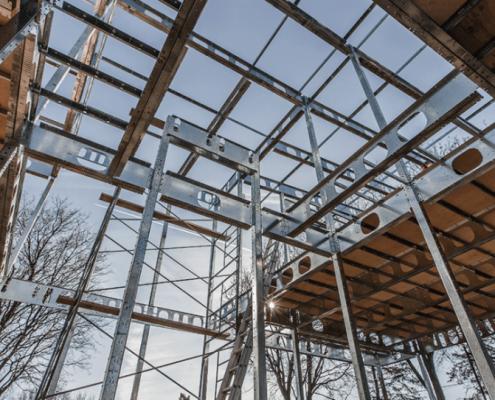 Structure en acier