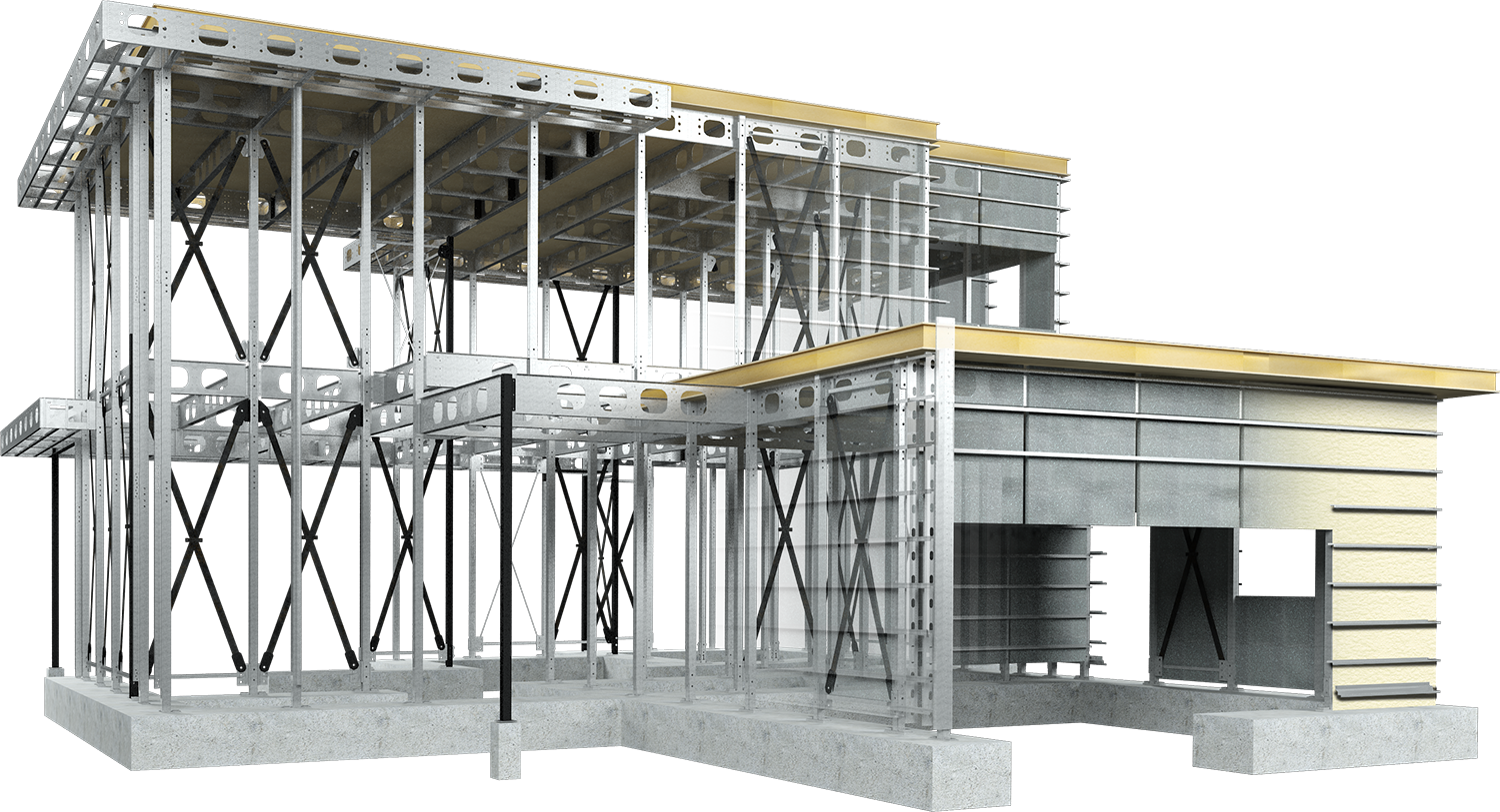 Steel Structure & SIP Panels