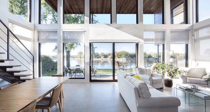 Large Open Spaces - No Interior Load-Bearing Walls