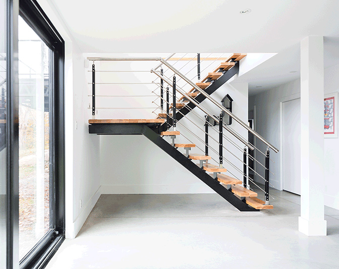 Integrated Staircase