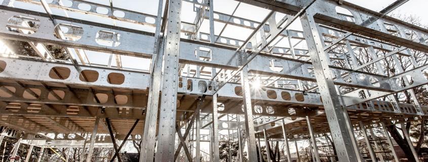 Structure d'acier