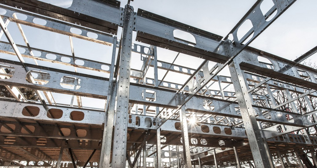 L 39 ossature d 39 acier supplantera t elle la structure de bois for Ossature acier