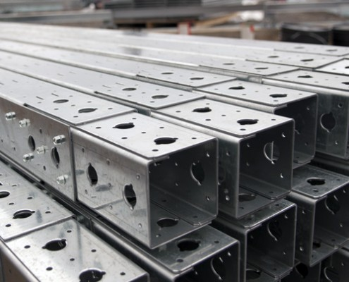 11-Gauge Recycled Galvanized Steel