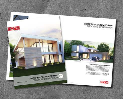 Brochure d'inspiration Moderne Contemporain