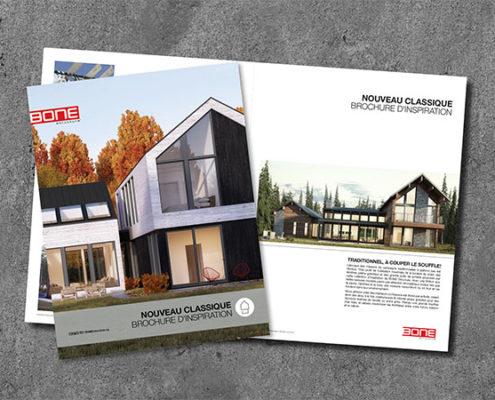 Brochure d'inspiration Nouveau Classique
