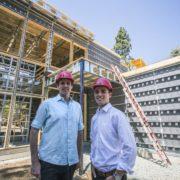 Professor Mark Z. Jacobson & Charles Bovet | Photo © Vicki Thompson