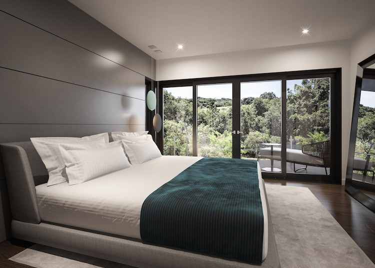 Renders 3d For Master Bedroom Project: Stanford Professor's New Zero-Net Energy Home Sets The