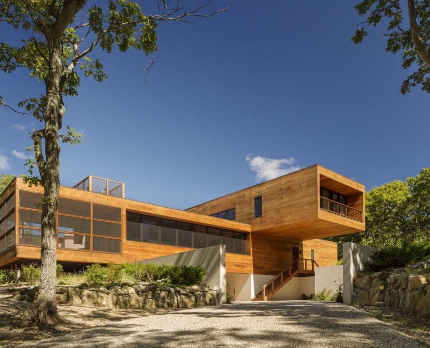 Architizer.com   Modern Cabin   10 Modern Home Designs to Inspire   House In Southampton by Jasmit Rangr Singh