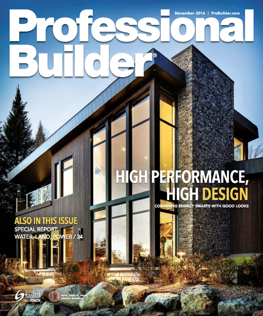 Professional Builder   November 2016