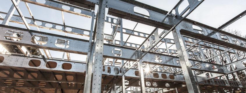 La structure d'acier léger confirme son efficacité énergétique