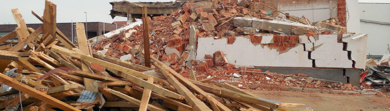 Construction demolition waste
