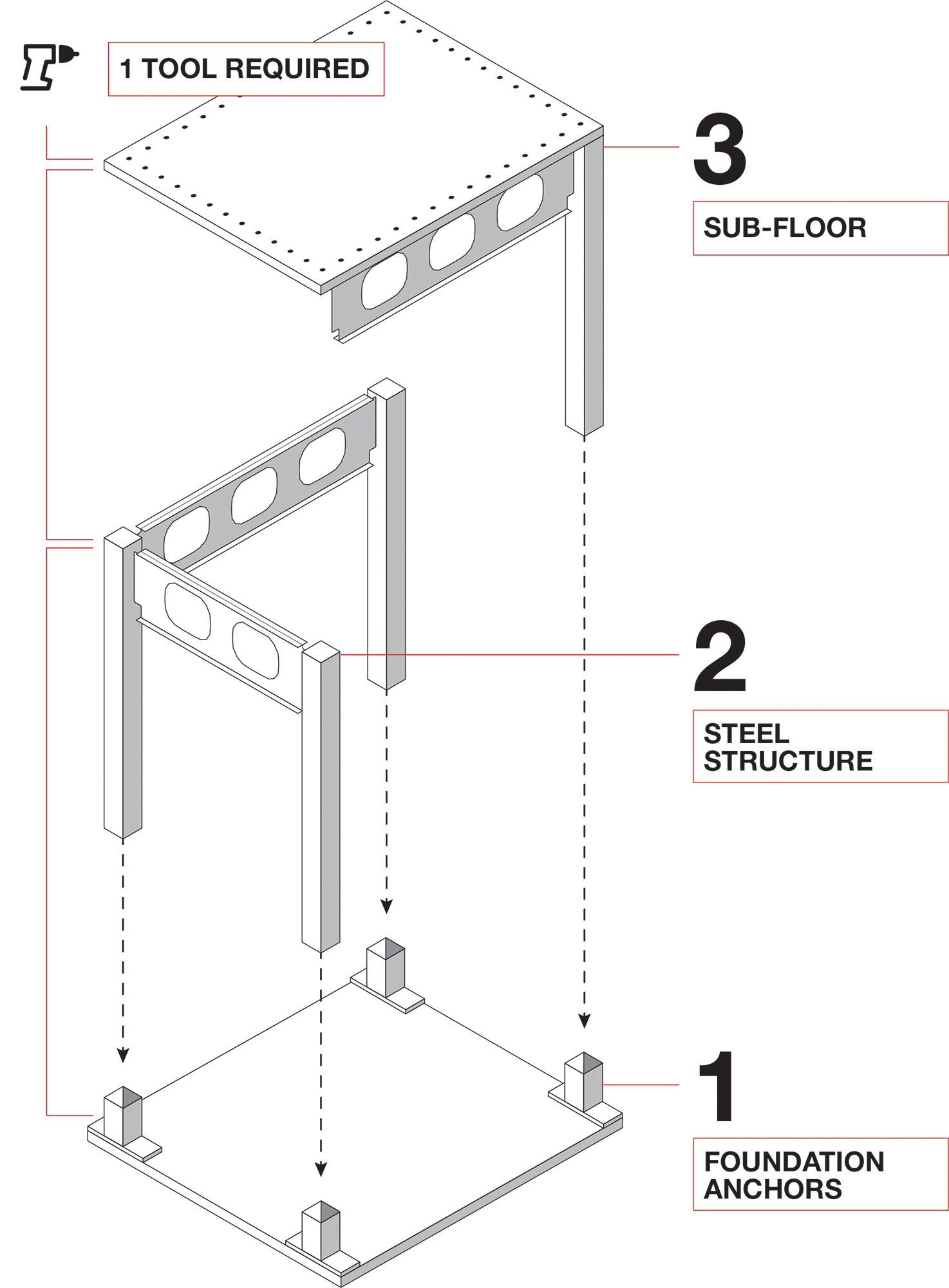 BONE Structure Playhouse Assembly