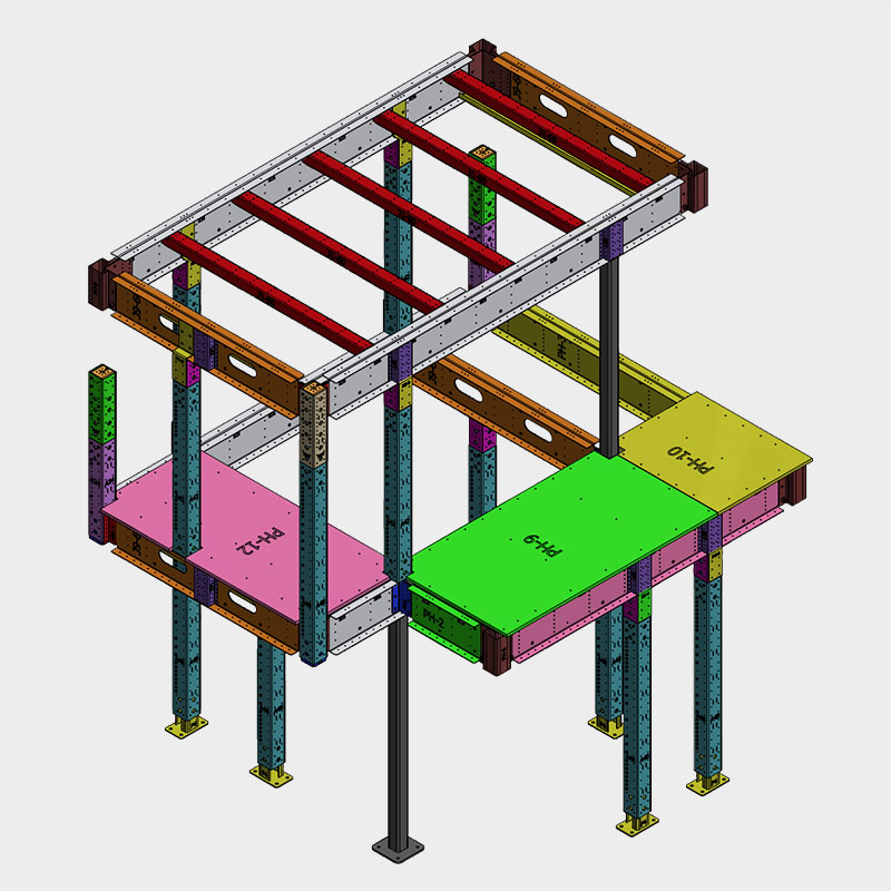 BONE Structure Playhouse Assembly Plans