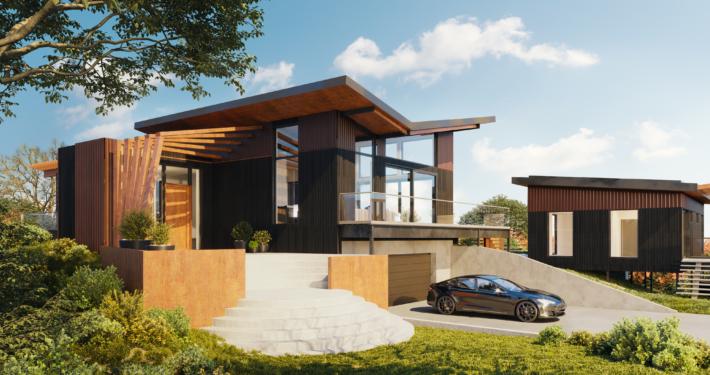 Santa Rosa BONE Structure Home - Front