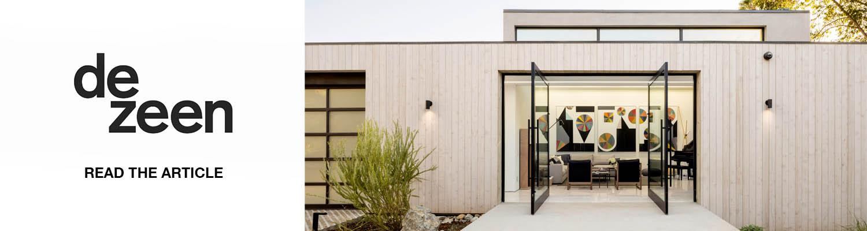 Bridge House featured in DeZeen