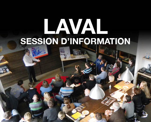 Session d'information à Laval