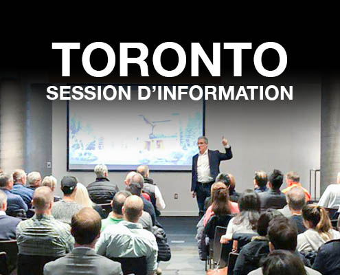 Session d'information à Toronto