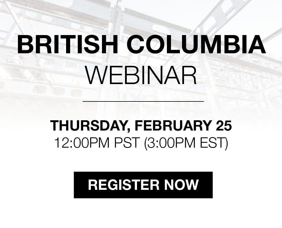 BONE Structure Webinar in British Columbia