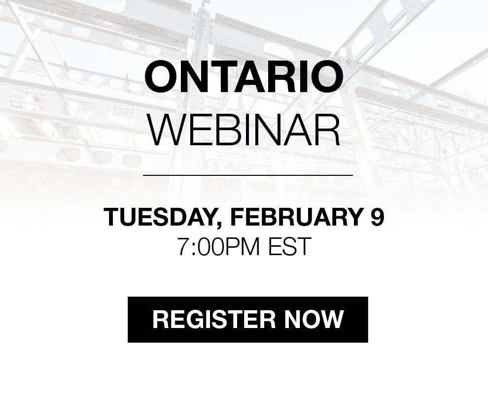 BONE Structure Webinar in Ontario