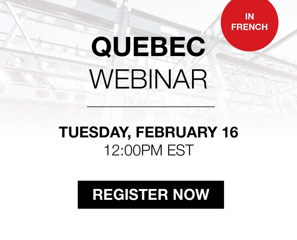 BONE Structure Webinar in Quebec