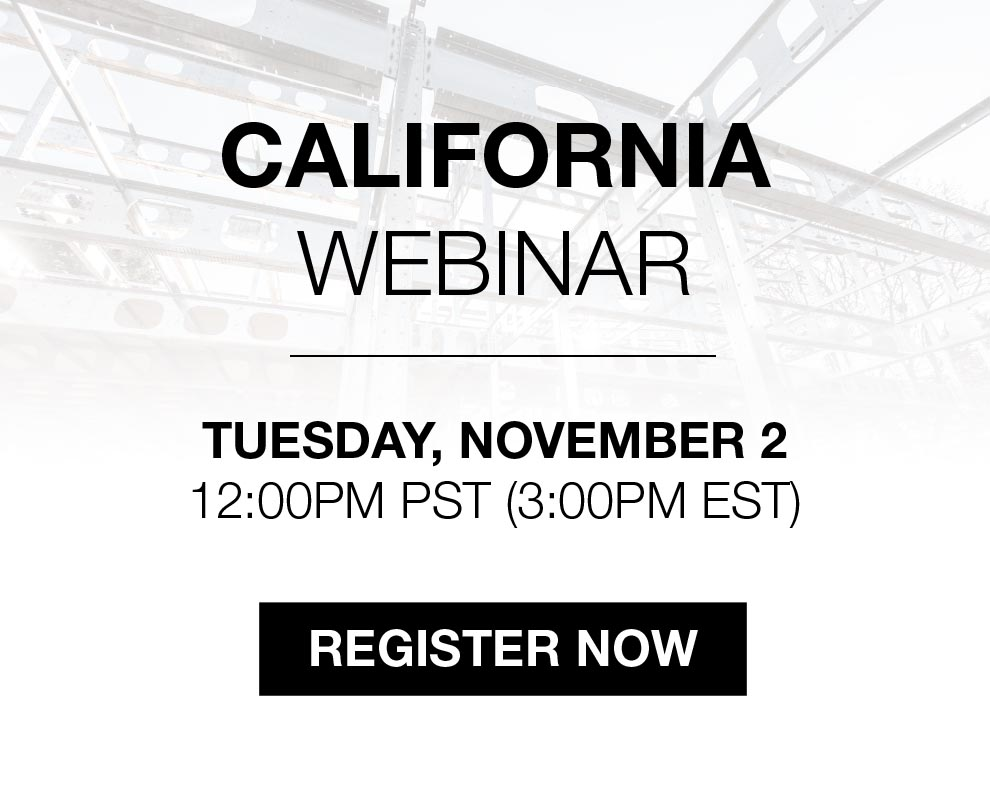 BONE Structure Webinar: California