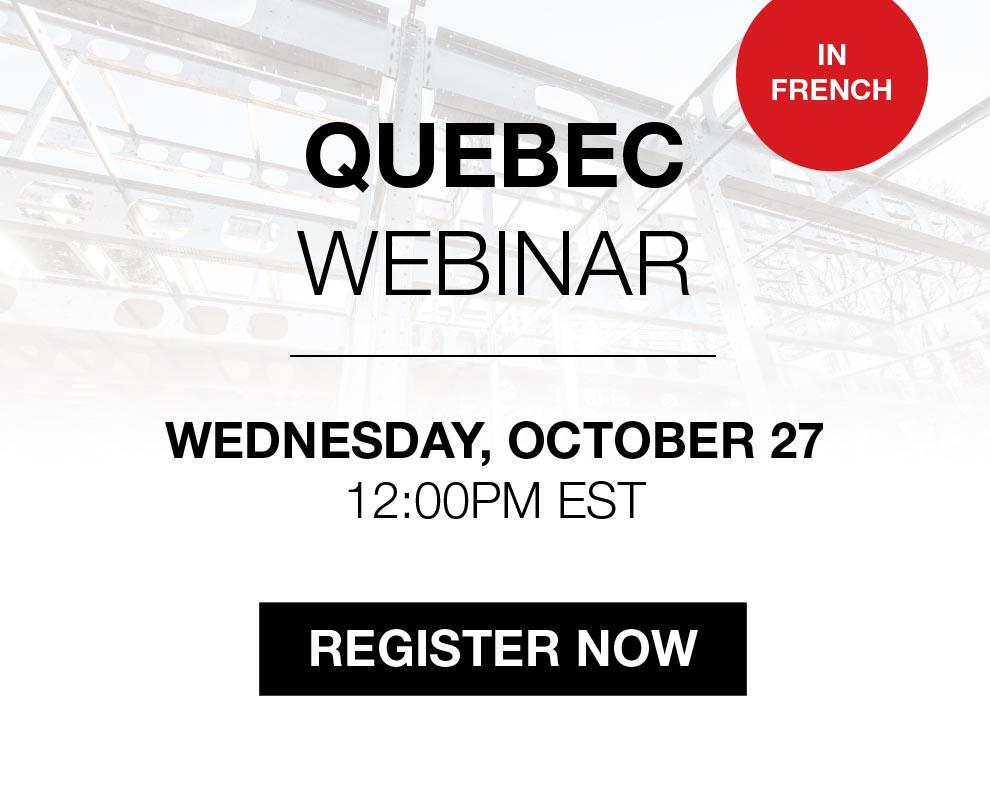 BONE Structure Webinar: Quebec
